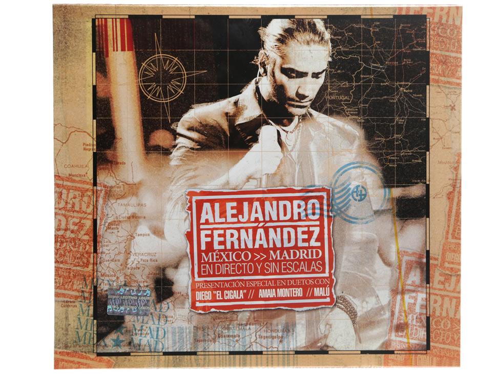 Alejandro fern ndez m xico madrid en directo y sin for Alejandro fernandez en el jardin mp3